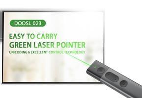 שלט/קליקר רחוק איכותי למצגות spotlight אלחוטי עם לייזר ירוק