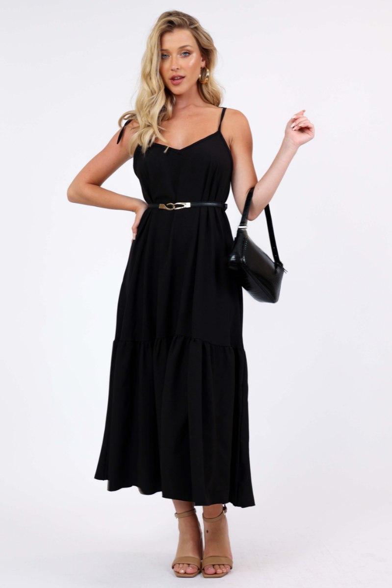 שמלת לונה לערב שחור