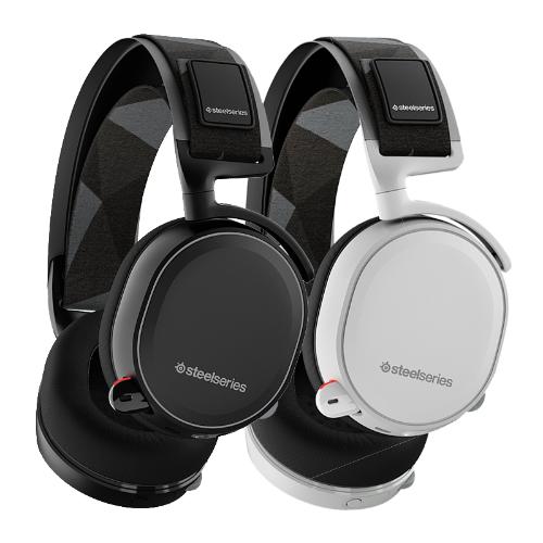 אוזניות גיימינג אלחוטיות Steelseries Arctis 7 Black Loseless Wireless