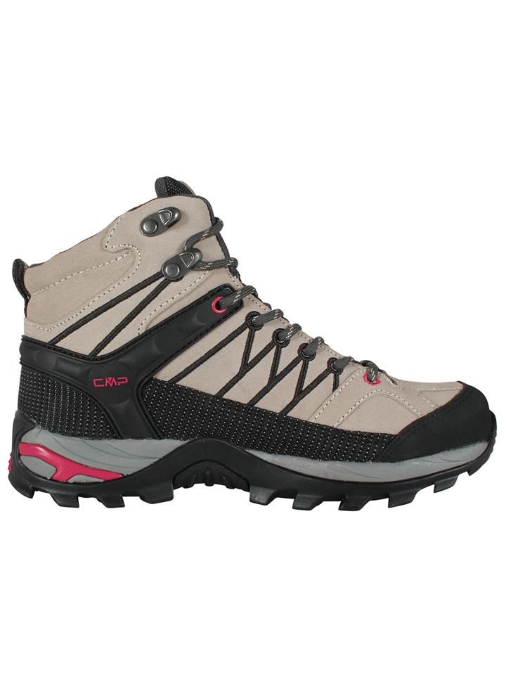 נעלי הרים נשים לטיולים - CMP RIGEL MID W 3Q12946-51BL