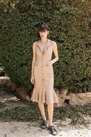 שמלת עור לונה פודרה