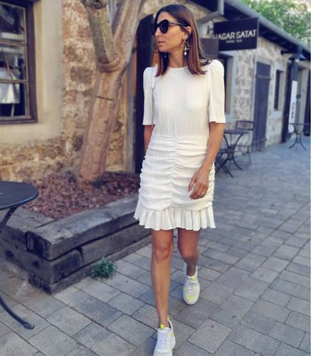 שמלת לוסיה - לבנה