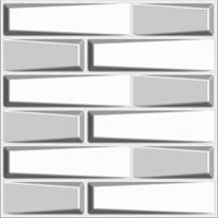 חיפויי קיר תלת מימדי דגם Feelings בגודל 50X50