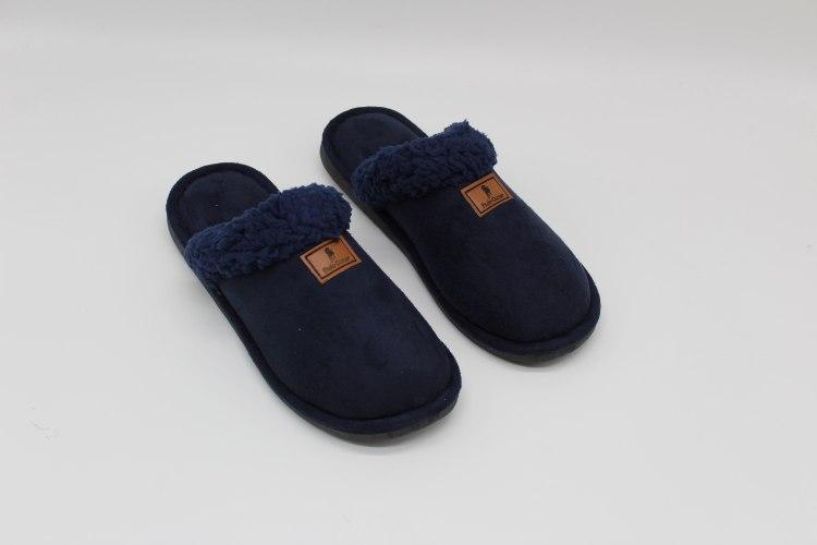 נעלי בית מחממות לגבר נייבי