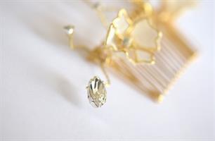 מסרקיה לכלה אלכסה זהב
