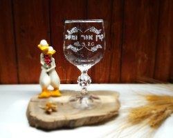 כוס חופה בעיצוב אישי