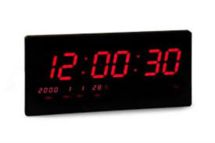 שעון קיר חשמלי גולף GOLF 3615R