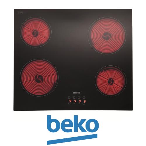 beko כיריים קרמיות דגם: HIC64400E מתצוגה !
