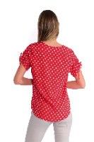 חולצה לימה אדומה