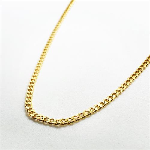 שרשרת גורמט פנצ'ר זהב קצרה S