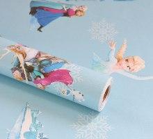 """טפטים עם מדבקה לחדרי ילדים נגד כתמים, מים וחום - בגודל גליל של 10 מטר * 60 ס""""מ"""