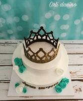 King Full Crown Chocolate mold Crown DIY Sugarcraft Fondant Chocolate 3D Mold