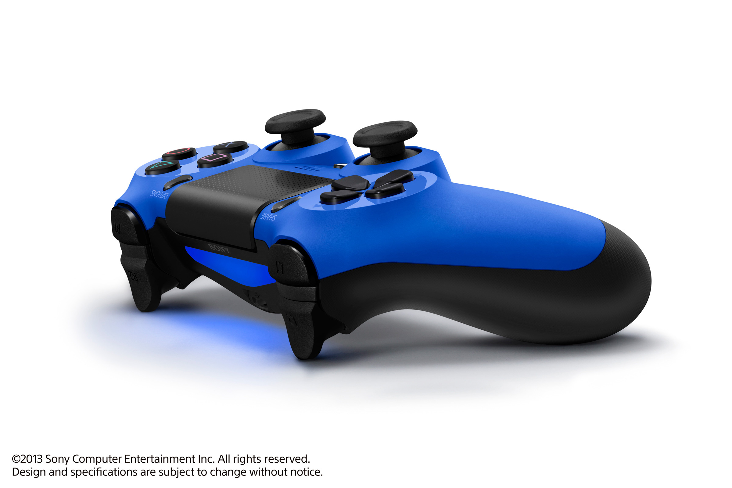 SONY PS4 DUALSHOCK 4 CONTROLLER בצבע כחול