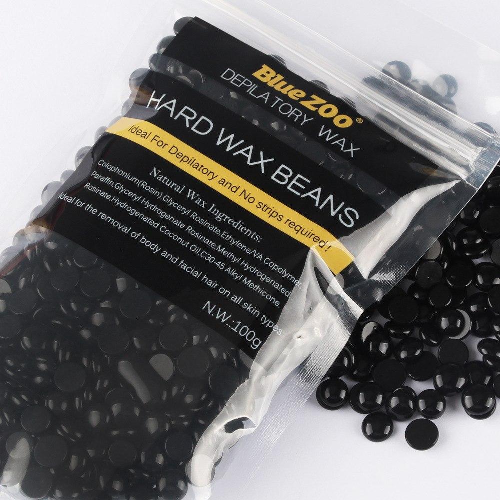 שעווה ברזילאית שחורה - מתקלפת להסרת שיער במינימום כאב!