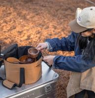 תיק אחסון לאביזרי בישול / סירים 14 ליטר N.H