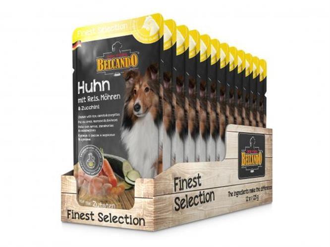 מחית בלקנדו מזון טבעי לכלב