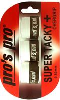 שלישיית גריפים pros pro SUPER TACKY PLUS 3pack white