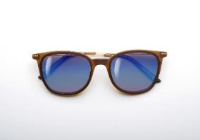 משקפי היפרלייט (נגד קרינה) עם אפקט מראה דגם THE-0102BN, MRBU צבע חום