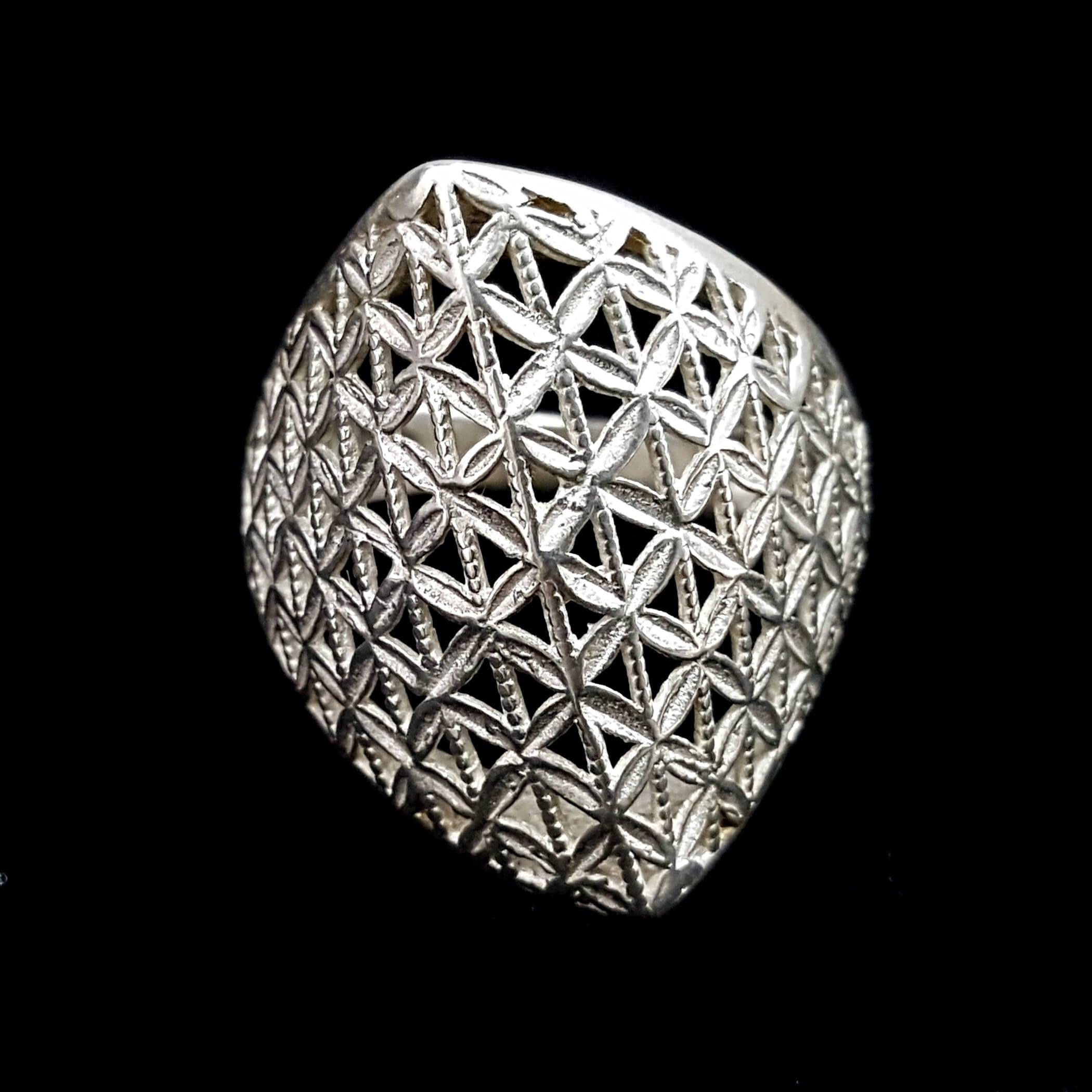 טבעת כסף מעוצבת RG7036   תכשיטי כסף 925