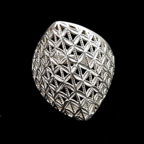 טבעת כסף מעוצבת RG7036 | תכשיטי כסף 925