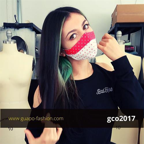 מסכת בד מעוצבת לנשים reusable face coverings