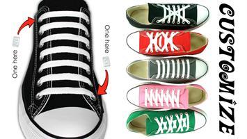 קליפסים לנעליים - לא צריך לקשור יותר את השרוכים (4 חתיכות בחבילה)