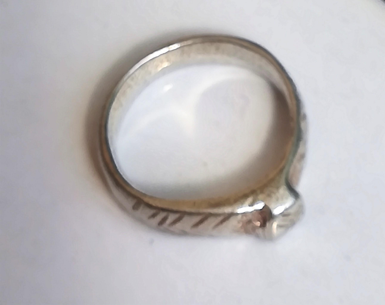 טבעת חותם עתיקה מהתקופה הרומית ביזנטית R119