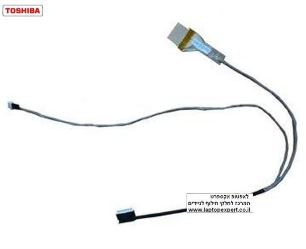 כבל מסך למחשב נייד טושיבה Toshiba Satellite L635 L630 L735 6017b0268701 Lcd Cable