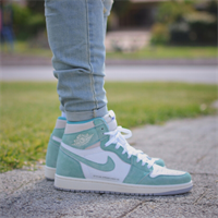 Nike Air Jordan 1 turbo green