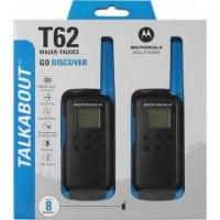 זוג מכשירי קשר ווקי טוקי Motorola TALKABOUT T62