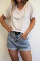 חולצת סול לבנה