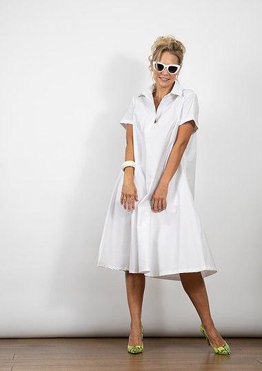 שמלת מארי לבנה