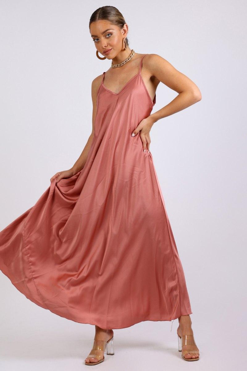שמלת ערב לין קורל