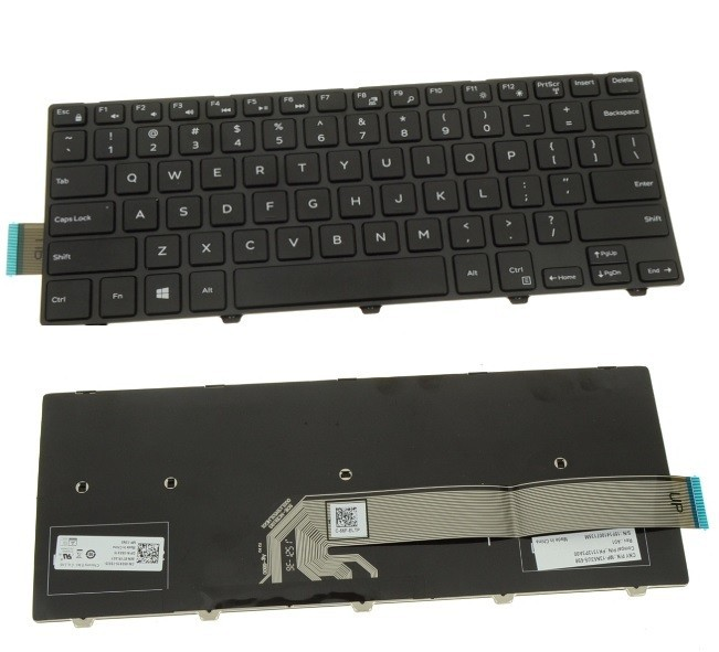 מקלדת למחשב נייד דל Dell Inspiron 5458 / 5448 / 5447 / Latitude 3450 Laptop Keyboard