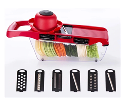 מנדולינה לחיתוך ירקות במגוון צורות