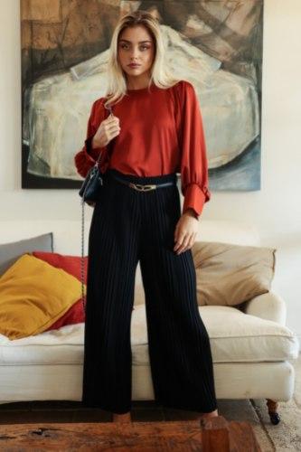 מכנס קנדל לערב שחור