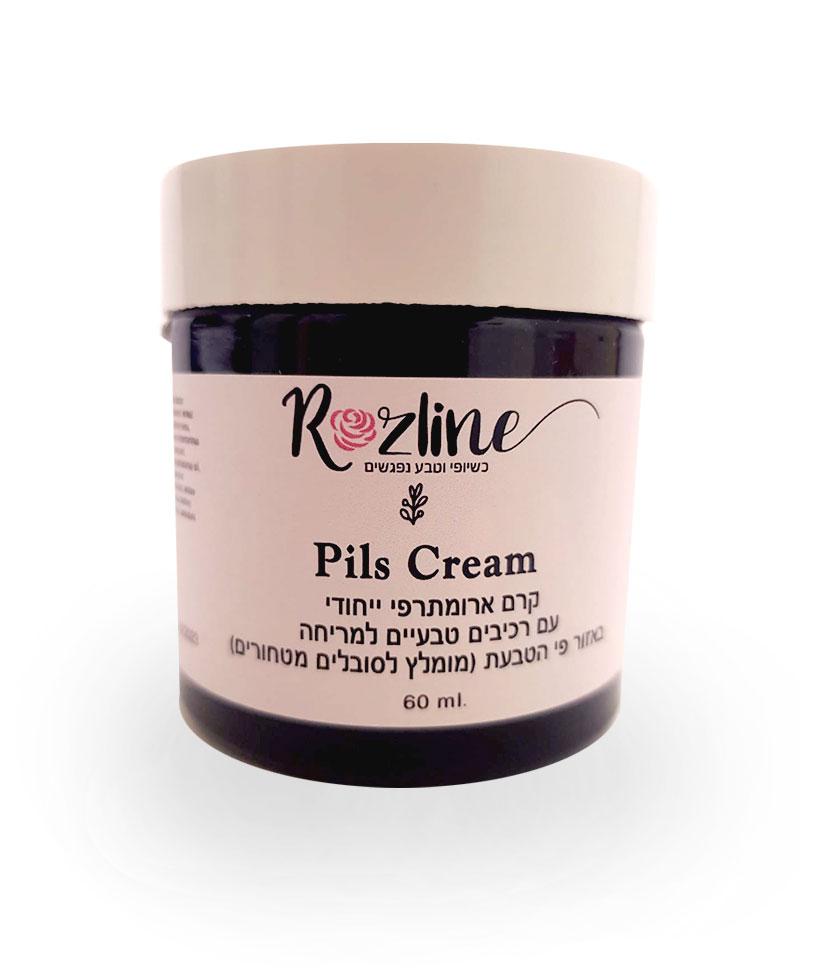 קרם לטחורים - קרם ארומתרפי טבעי - Pils Cream