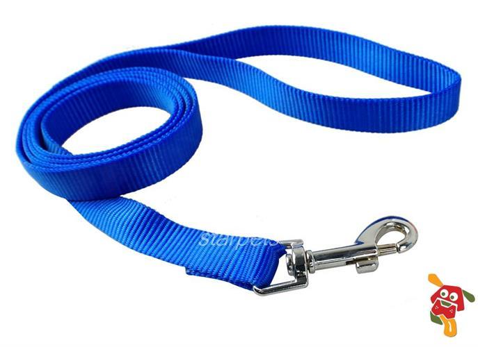 """רצועה לכלב - כחול מידה L (מתאים עד 41 ק""""ג)"""