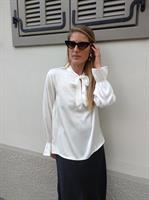 חולצת BOW לבנה