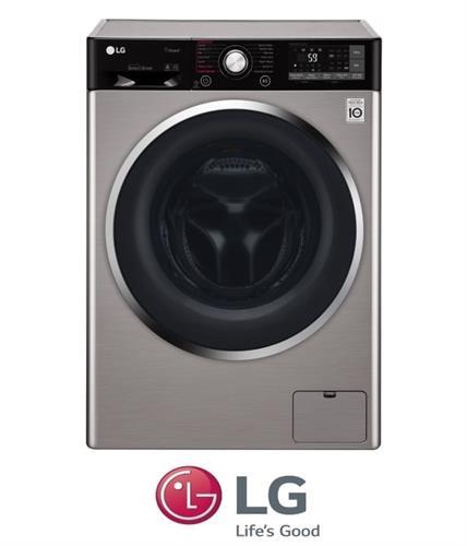 """מכונת כביסה פתח קידמי LG F4J9JSP2T 10.5 ק""""ג"""