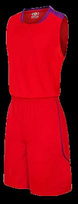 תלבושת כדורסל בעיצוב אישי RED דגם #6018