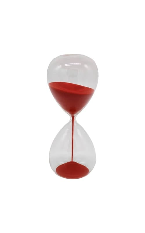 שעון חול זכוכית גדול