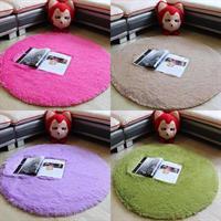 שטיחים עגולים איכותיים בצבעים אחידים במבצע!