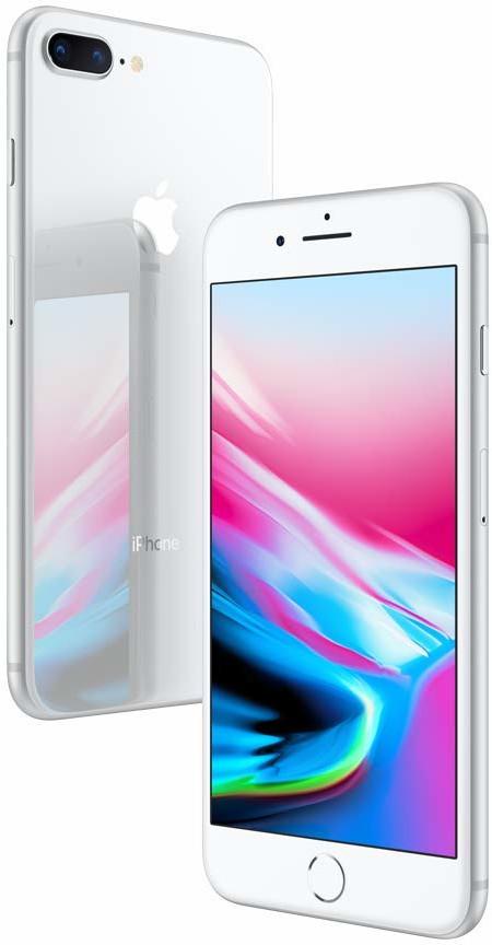סמארטפון Apple IPhone 8 Plus 128GB - שנה אחריות יבואן רשמי, מוצר חדש!!!
