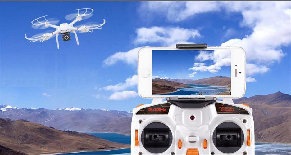 רחפן מקצועי MJX X101 מצוייד ב-GIMBAL ומצלמת HD MJX C4008 לצפייה ישירה במסך הסמארטפון