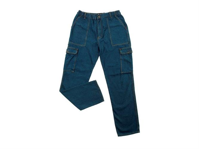 "מכנס דגמ""ח ג'ינס גומי"