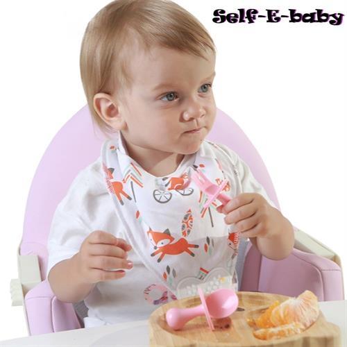 סט כפית ומזלג לתינוק – Self-E-baby