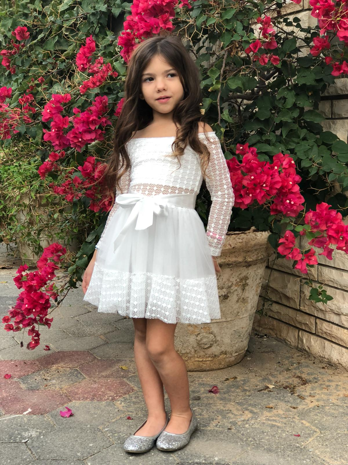 שמלת שושבינה לילדות