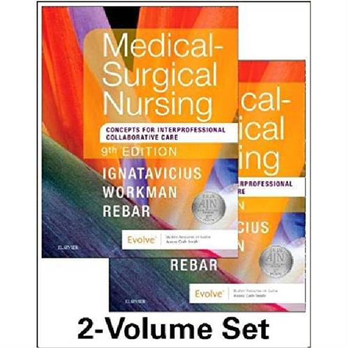 Medical-Surgical Nursing : Concepts for Interprofessional Collaborative Care, 2-Volume Set