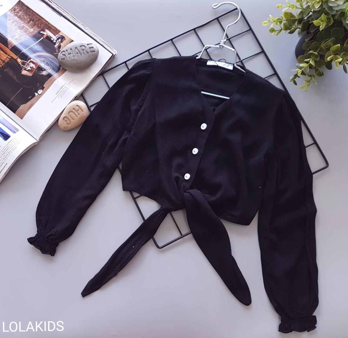 חולצת וואל קשירה דגם 9478